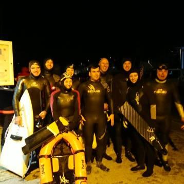 Nageuses et Nageurs du groupes de palmeurs de Lesneven