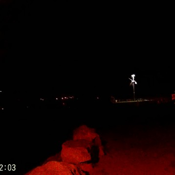 Nage de nuit